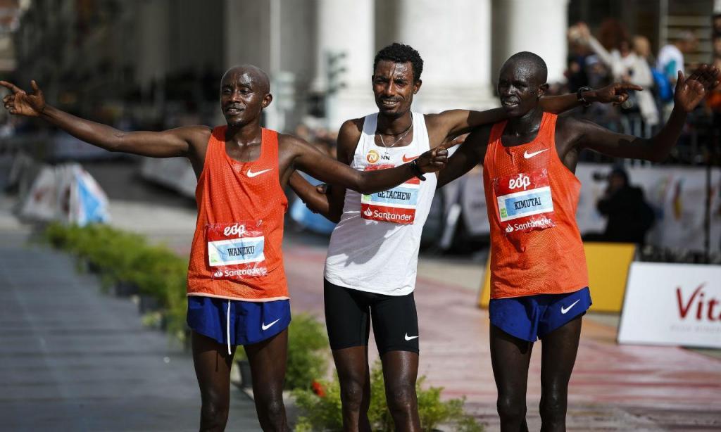 Limenih Getachewdo venceu a maratona de Lisboa