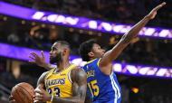 LeBron James nos Lakers