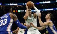 Boston Celtics vencem Philadelphia 76ers (Greg M. Cooper-USA TODAY Sports)