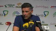 João Manuel Pinto: «É uma mágoa, todos pensávamos que jogo ia ser na Sertã»