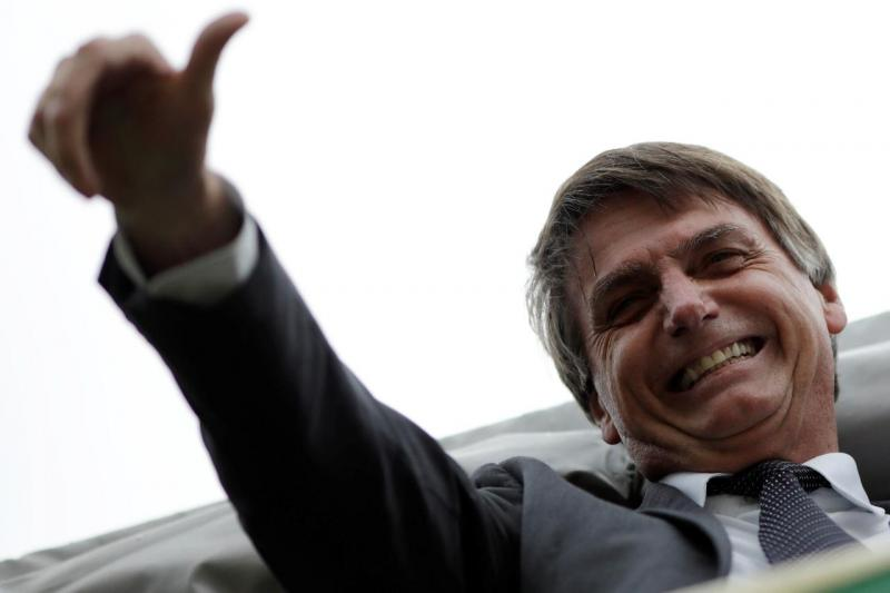 2018 Jair Bolsonaro no dia em que Surpemo Tribunal tomou decisão final sobre prisão de Lula da Silva