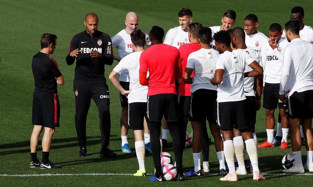 Thierry Henry já trabalha no Mónaco