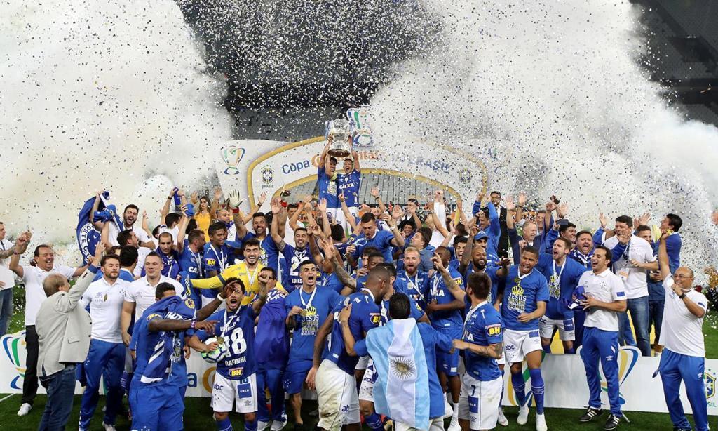 Cruzeiro é bicampeão da Copa do Brasil