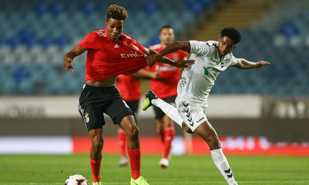 Benfica vence Sertanense e segue em frente na Taça