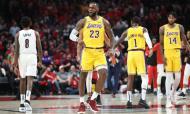 Portland Trail Blazers - LA Lakers (Jaime Valdez-USA TODAY Sports)