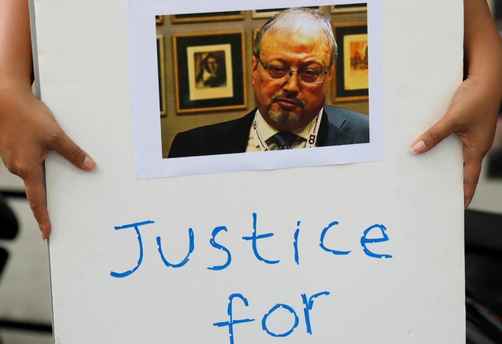 Protesto por Jamal Khashoggi