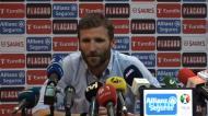 «Estou extremamente satisfeito com os meus jogadores»