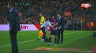 Barça assume liderança mas perde Messi
