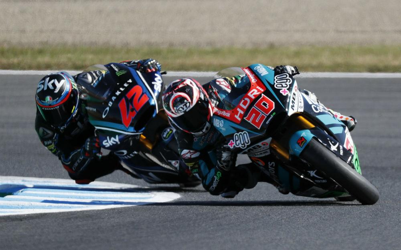 Fabio Quartararo e Francesco Bagnaia (Reuters)