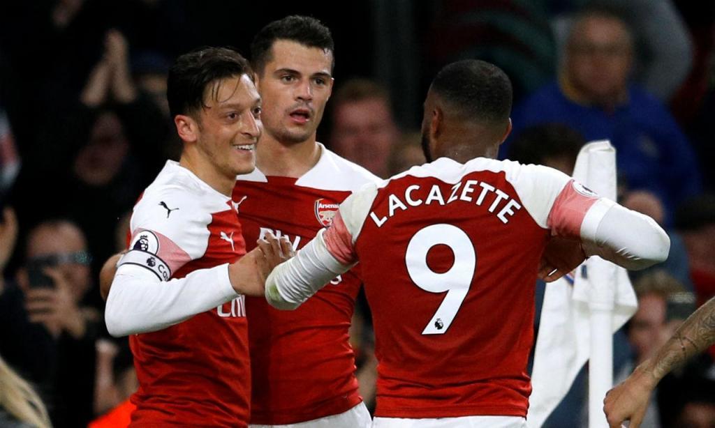 Arsenal-Leicester (Reuters/Peter Nicholls)
