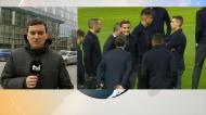 Adeptos esperam à porta da Juventus em Manchester