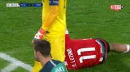 Vermelho direto para Lloris no PSV-Tottenham