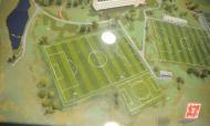 Maqueta do Centro de Treinos do Seixal