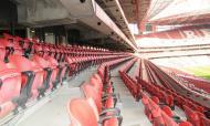 Cadeiras do segundo anel do Estádio da Luz