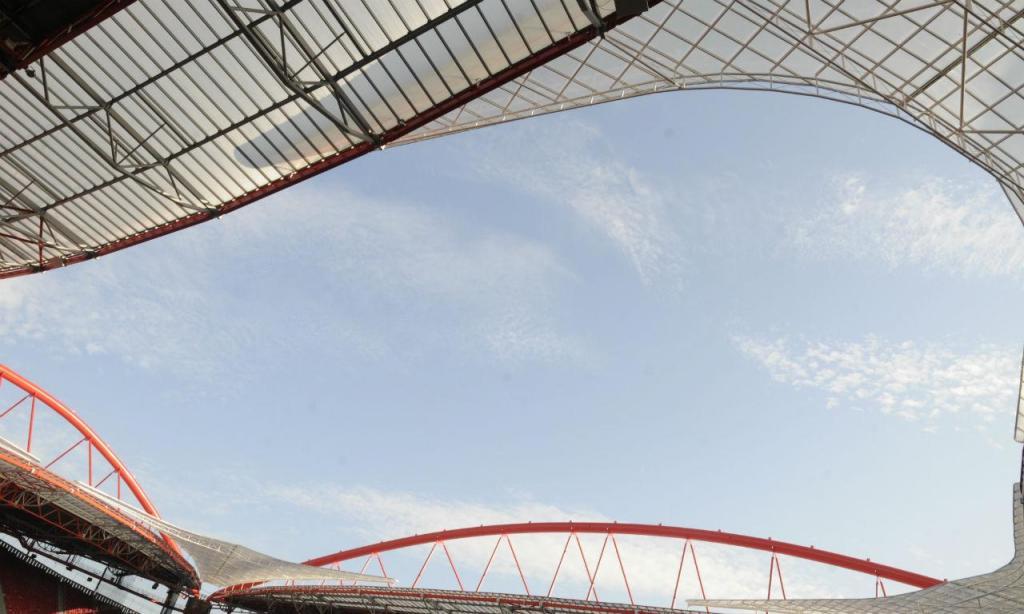 Cobertura do Estádio da Luz