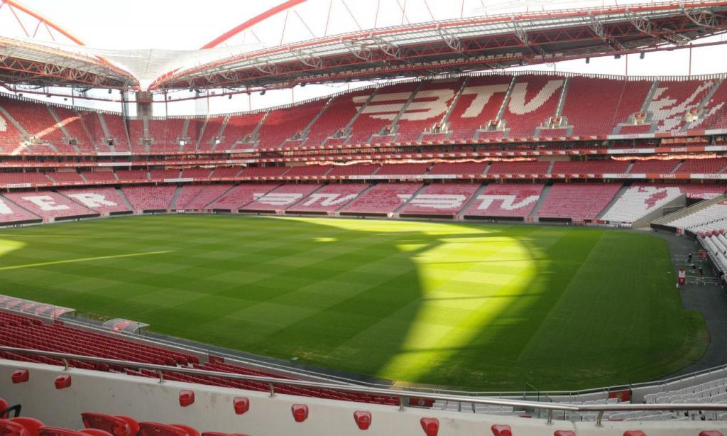 Bancada central do Estádio da Luz