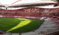 Vista do Estádio da Luz desde o topo norte