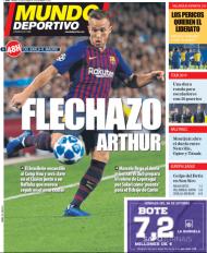 O Mundo Deportivo desta sexta-feira