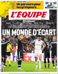 L'Équipe desta sexta-feira