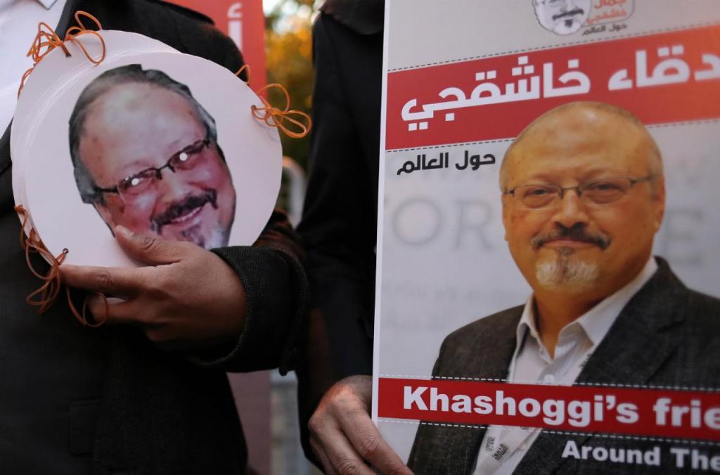 Protestos anti-sauditas pela morte do jornalista Jamal Khashoggi - Istambul
