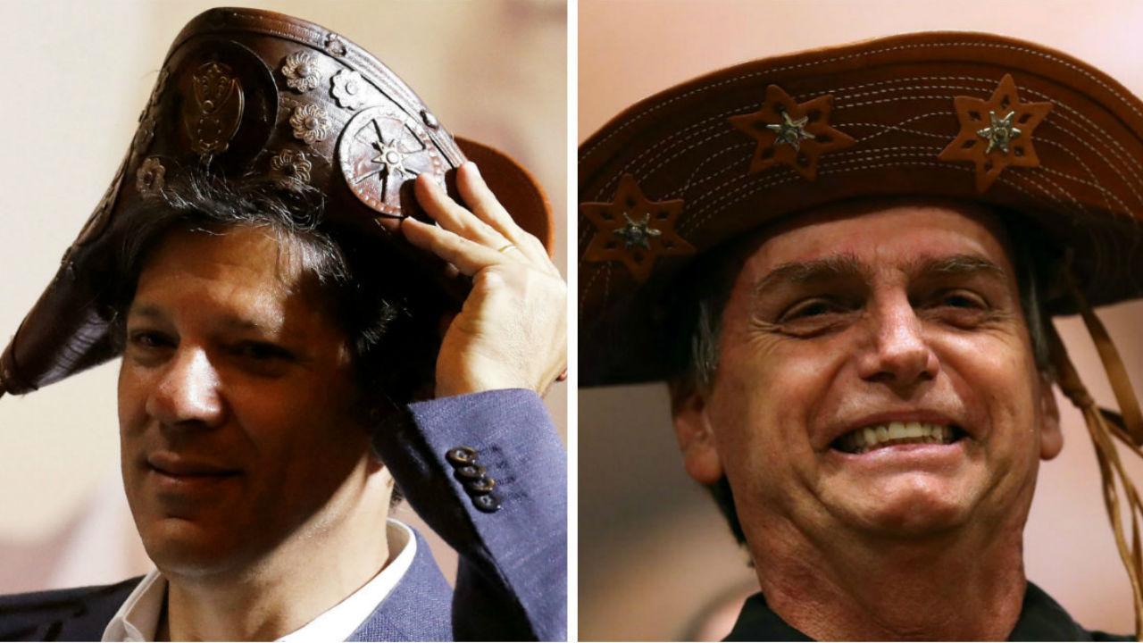 Haddad vs. Bolsonaro