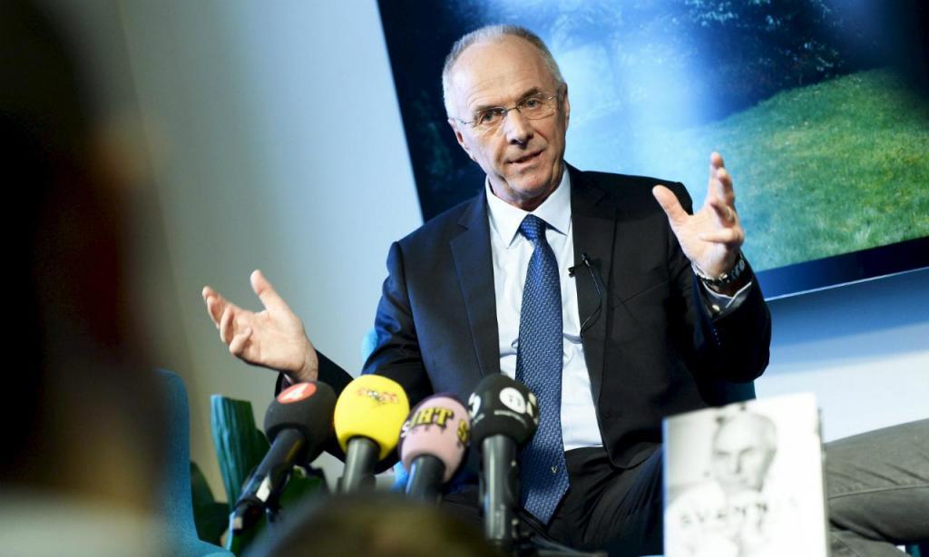 Sven-Göran Eriksson (foto Reuters)