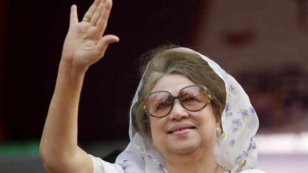 Antiga primeira-ministra do Bangladesh, Khaleda Zía