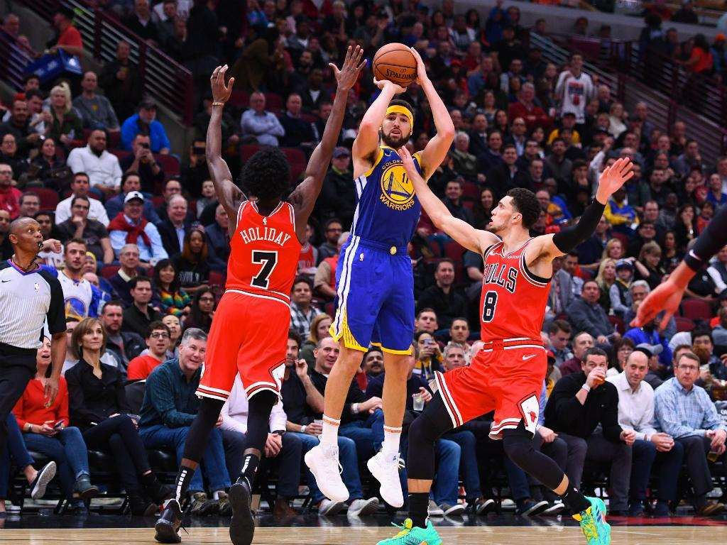 Klay Thompson (Mike DiNovo-USA TODAY Sports)