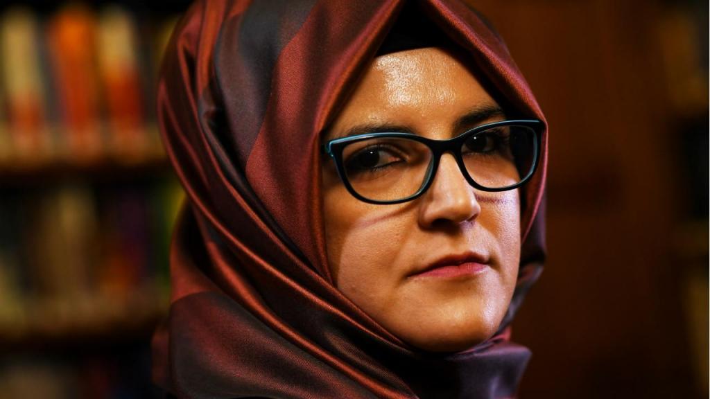 Hatice Cengiz, noiva de Jamal Khashoggi