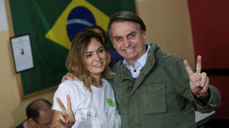 Michelle e Jair Bolsonaro