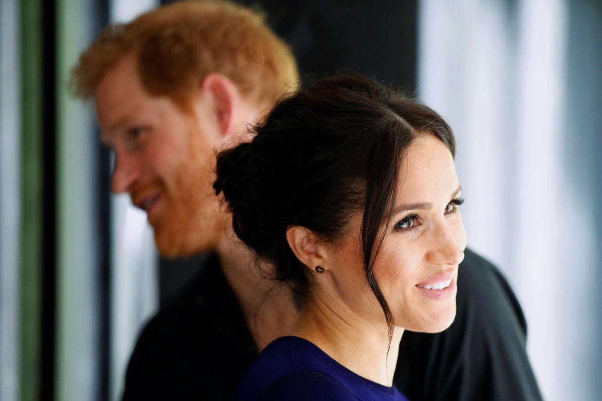Meghan Markle e Príncipe Harry na Selfie