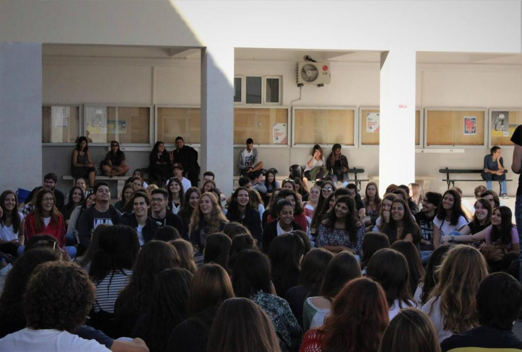 Evento de praxe na Escola Superior de Educação de Coimbra