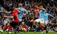 Manchester City-Southampton (Reuters/Jason Cairnduff)