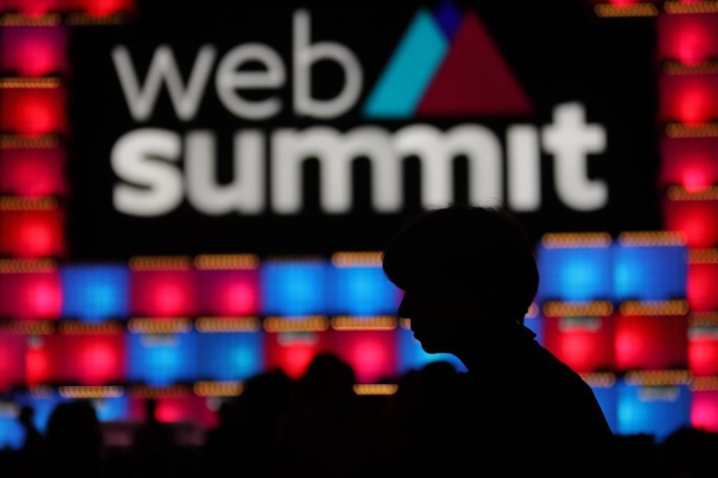 O primeiro dia da Web Summit