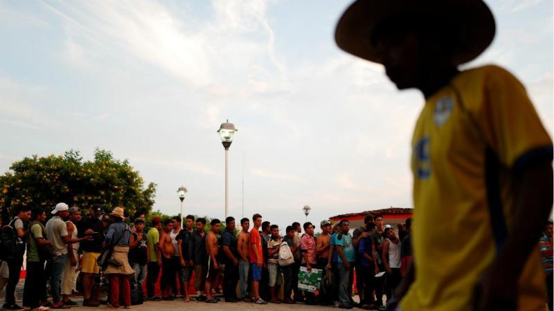 Migrantes no México