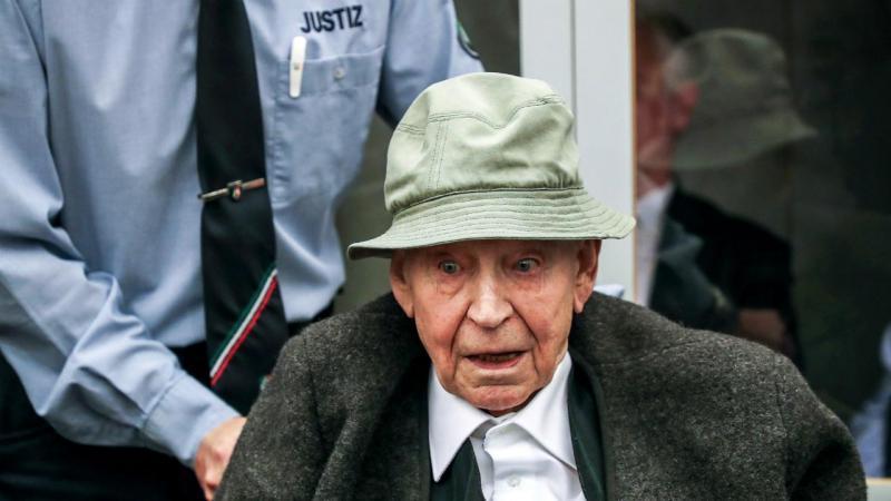 Johann R., antigo guarda do campo de concentração nazi