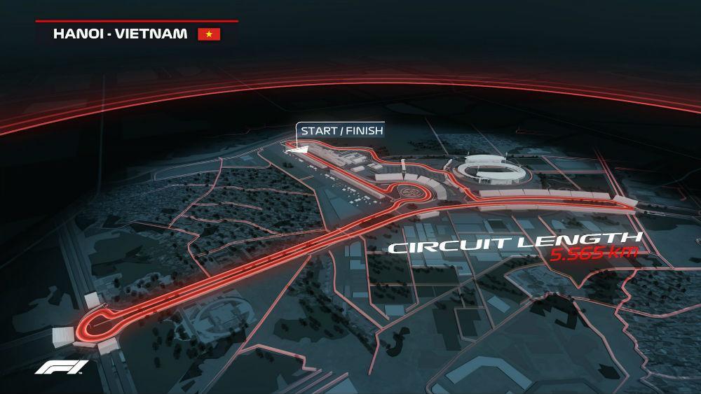 Circuito de Hanói (imagem site «Formula1.com»