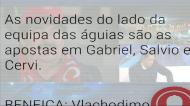 A análise ao onze inicial do Benfica por Pedro Barbosa e Nuno Gomes