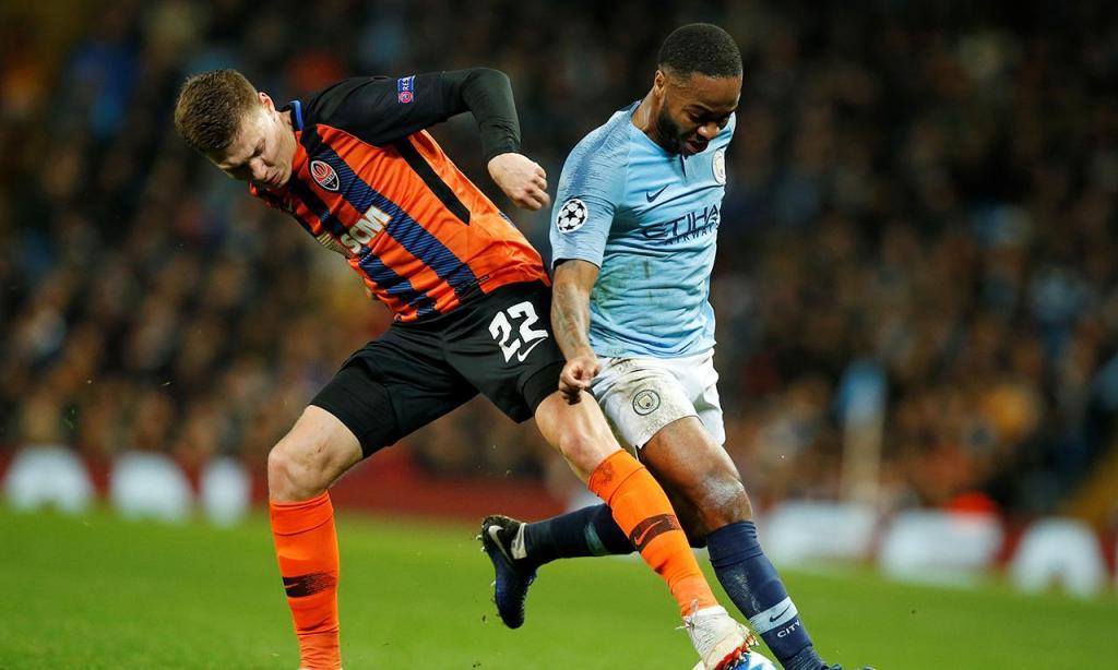 Manchester City-Shakhtar