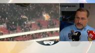 Distúrbios no Benfica-Ajax causaram 22 feridos, nove deles polícias