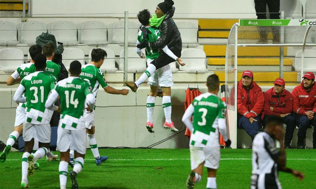 Moreirense-Portimonense: as melhores fotos