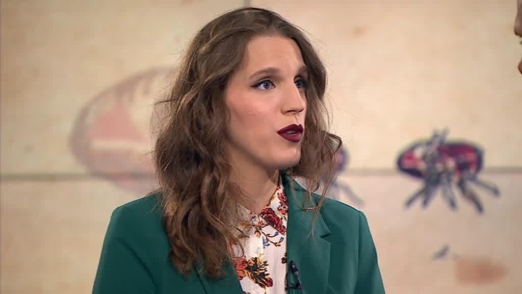 Luísa Sobral apresentou novo tema no Jornal das 8