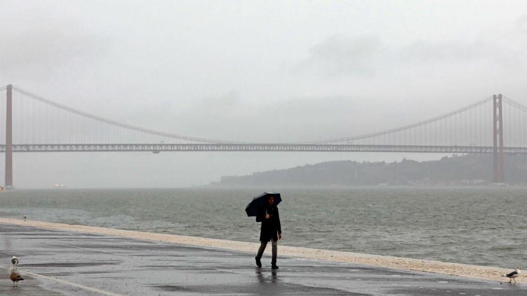 Mau tempo em Lisboa