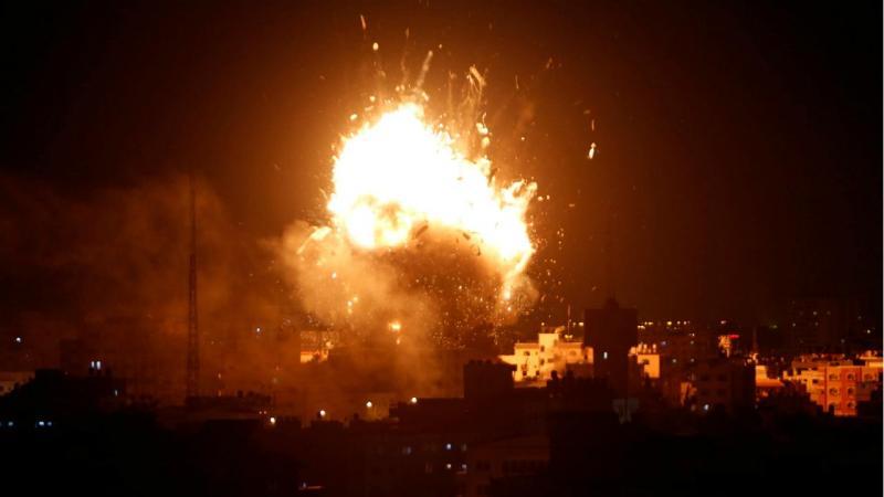 Israel bombardeia estúdios da Hamas TV