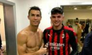 Cristiano Ronaldo com Bellanova e Chellini aparece nu