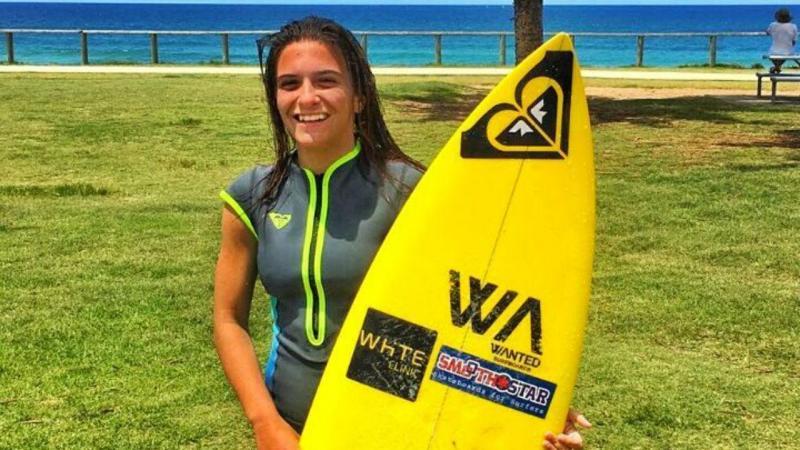 Mariana Rocha Assis compete na Liga MEO Surf
