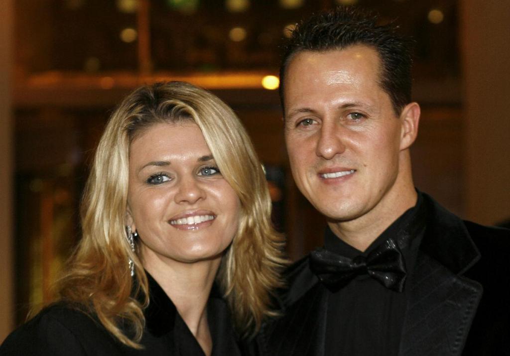 Corinna e Michael Schumacher (Reuters)