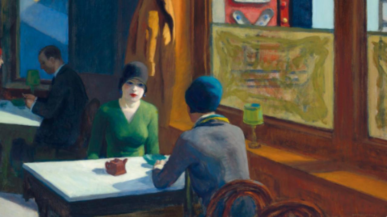 """Chop Suey"" de Edward Hopper"