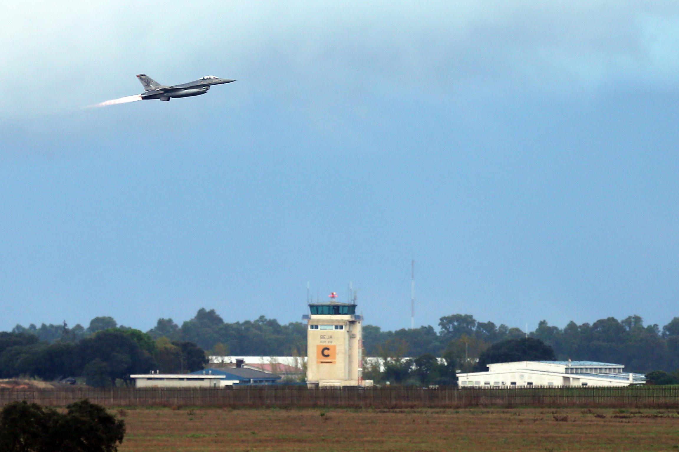 F-16 da Força Aérea