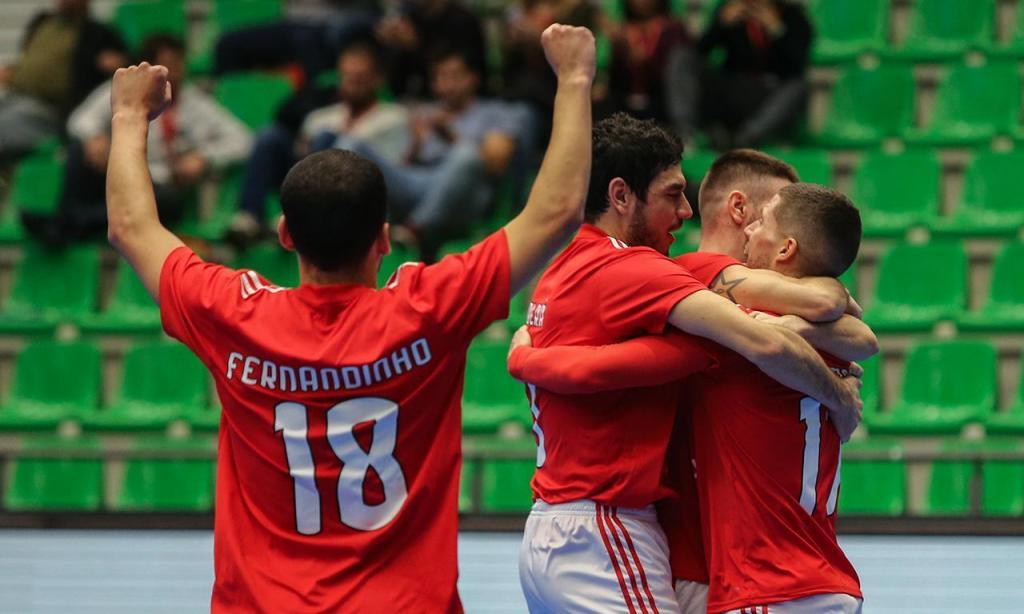 Futsal: Benfica-Nova Vrijeme